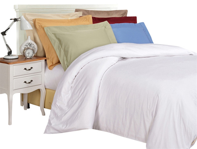 Egyptian Cotton 1000 Thread Count Solid Duvet Cover Sets
