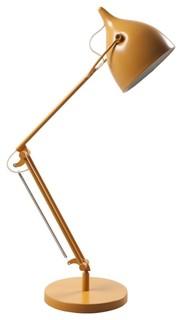 lampe de bureau reader couleur jaune scandinave lampe poser par. Black Bedroom Furniture Sets. Home Design Ideas