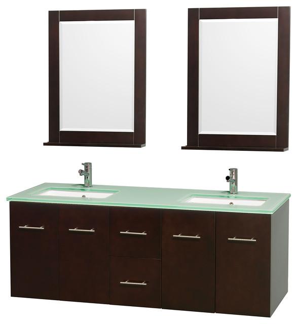 Square Double Sink Bathroom Vanity Top