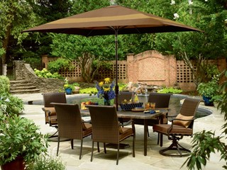 Country Living Grant Park 7 Pc. Dining Set - Modern - Outdoor Dining Sets - by Kmart
