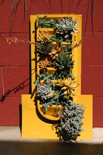 Succulent Wall For Del Mar Home Garden Show 2012