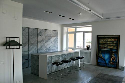Art-studio apartment, 200 square meters
