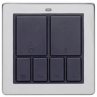 Mood lighting controller switch chrome - Modern switches and sockets ...