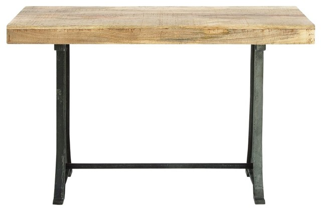 Metal Wood Console Console Tables By Brimfield May