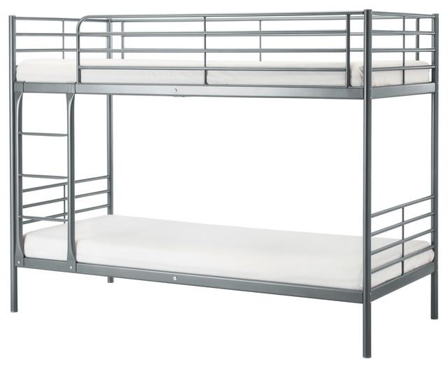 Svarta bunk bed frame ikea contemporain lit superpos par ikea - Ikea lit superpose metal ...