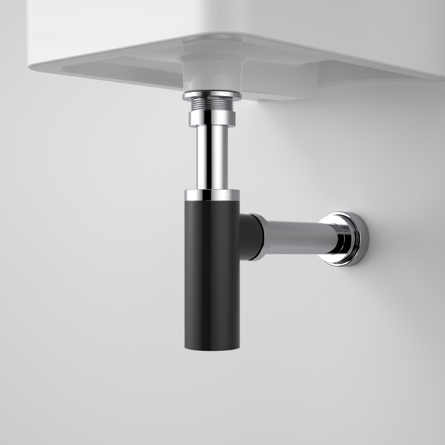 Eco Noir Bottle Trap Bathroom Sink And Tap Spares Other Metro By Caroma