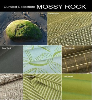 Green Discount Fabric Curated Fabric Collection