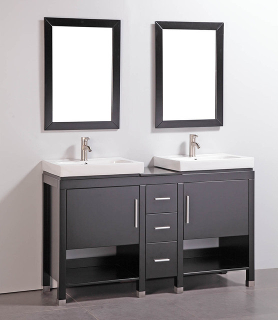 Popular Marble 315inch Bathroom Vanity With Matching Mirror  Free Shipping