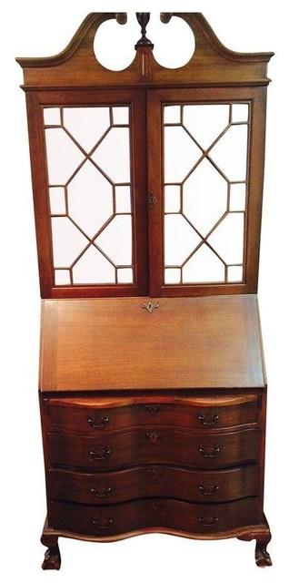Northwestern Cabinet Co. Antique Secretary Desk - Modern - Desks And ...