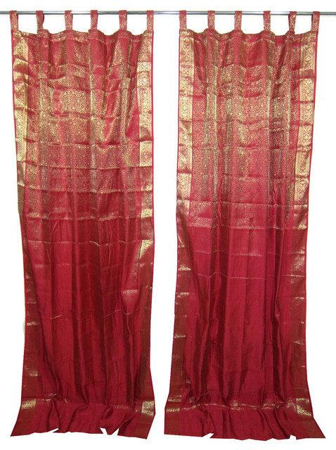 Asian style curtains 2