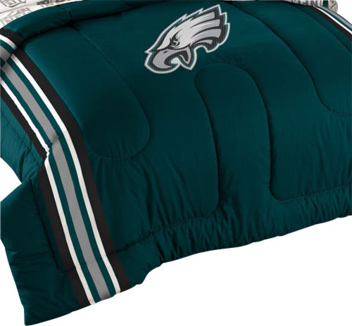 Nfl Philadelphia Eagles Football Twin Full Bed Comforter Set Contemporary Kids Bedding By