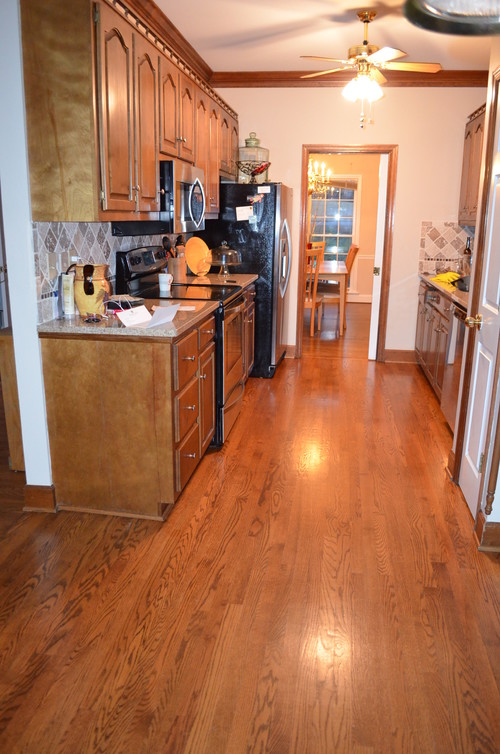 Small galley kitchen update for Pictures of updated galley kitchens