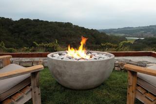 Modern fire for Eldorado fire bowls