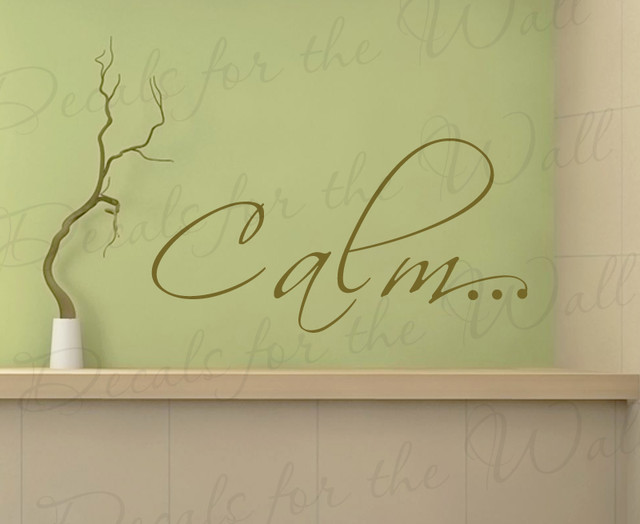 Wall Art Decals Letters : Wall decal sticker quote vinyl art removable lettering