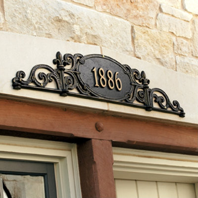 Charleston Outdoor Signs Traditional House Numbers