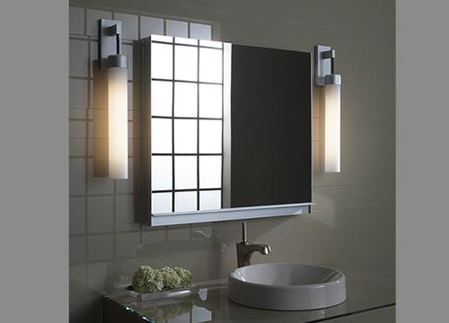 Godmorgon bathroom cabinet with 2 doors