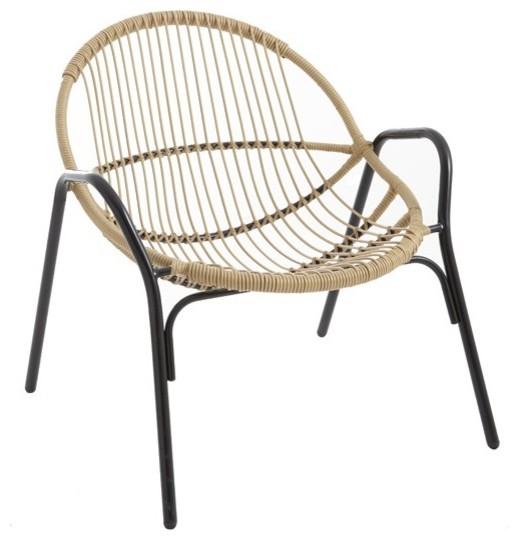 Fauteuil cuba contemporain fauteuil de jardin par for Castorama fauteuil jardin