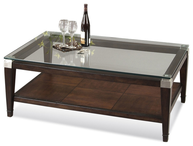 Dunhill Rectangle Cocktail Table Contemporary Coffee Tables By Carolina Rustica
