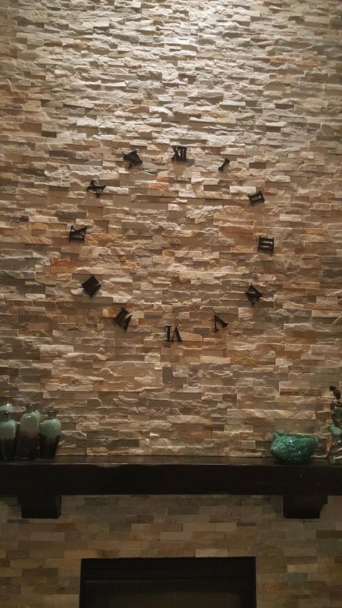 How To Hang On A Stone Wall Without Drilling