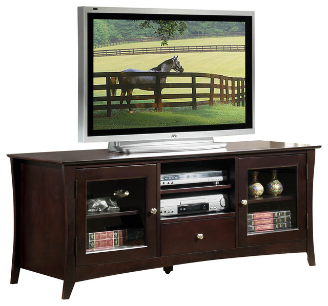 homelegance borgeois 60 inch tv stand traditional entertainment centers and tv stands by. Black Bedroom Furniture Sets. Home Design Ideas