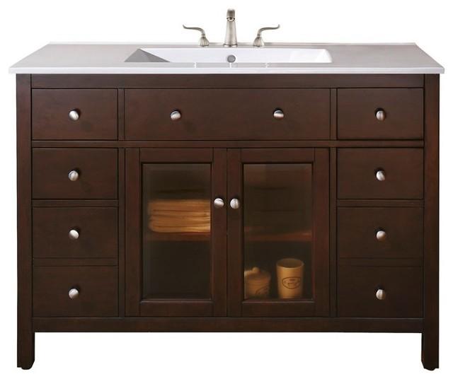bathroom vanity 48 x 21 x 34 eclectic bathroom vanities and sink