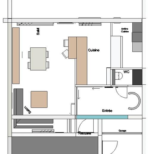 votre avis pour ouverture cuisine. Black Bedroom Furniture Sets. Home Design Ideas