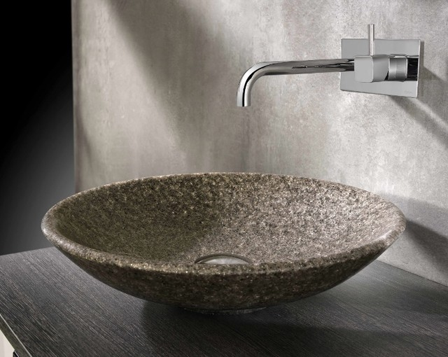 Cifial natural mica stone basin contemporary bathroom sinks other by uk bathrooms - Designer bathroom sinks basins ...