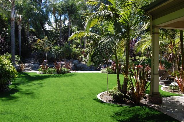 Residential Features Tropical Landscape Orange