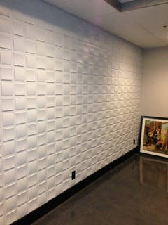 3d Mdf Wall Panels And Leather Panels Modern Wallpaper