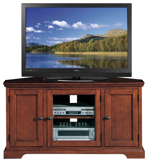 Westwood Corner TV Stand - Traditional - Entertainment Centers And Tv Stands - by Leick Home