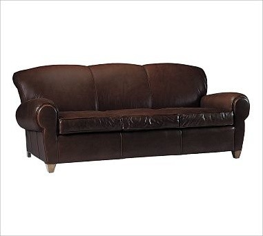 Manhattan Sofa Leather Whiskey Traditional Sofas By