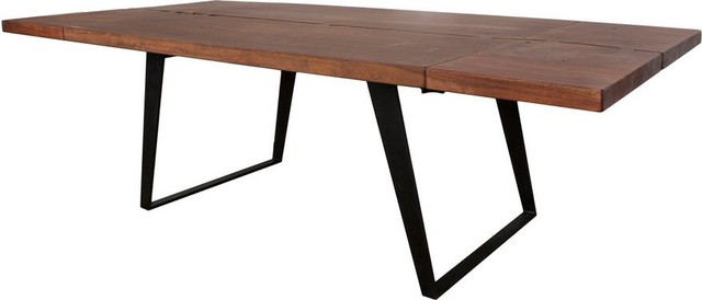 omaha extension dining table contemporary dining tables by