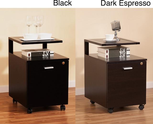furniture of america milla modernized home office single