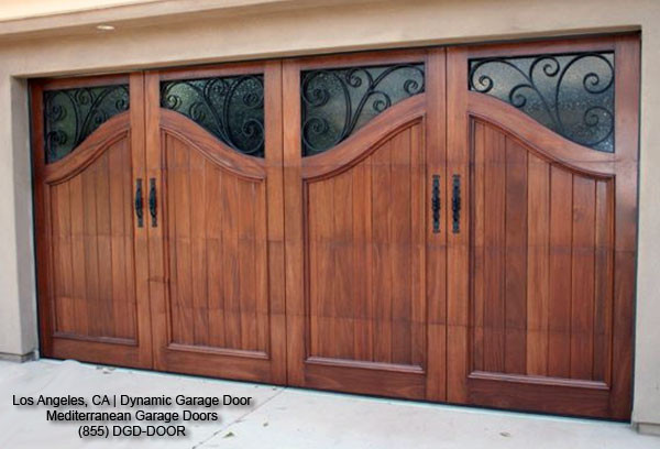 Mediterranean Style Garage Doors Custom Designed