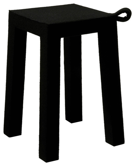 Handle bench black modern dressing table stools - Modern black dressing table ...