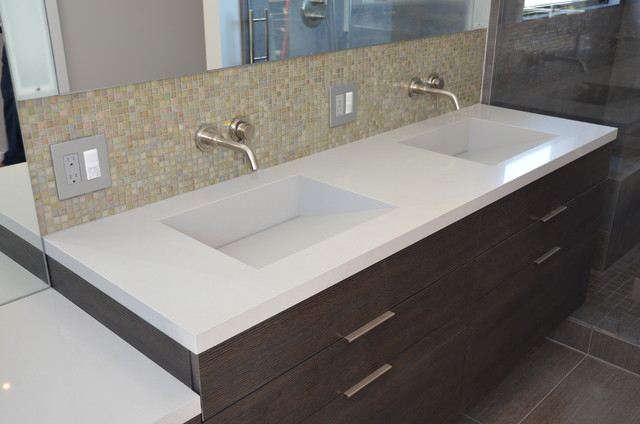 Quartz Integrated Sinks