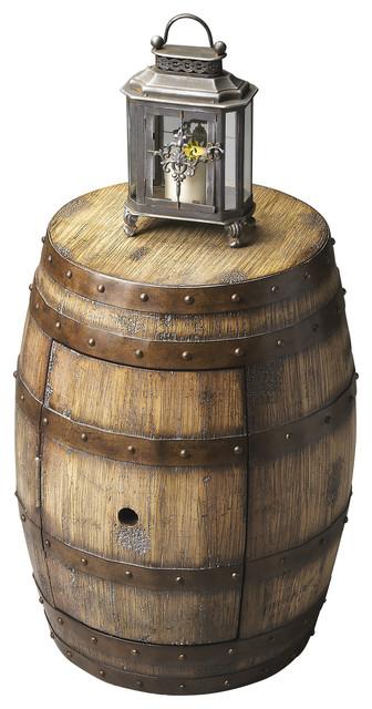 Barrel table moderne klassik beistelltische von for Moderne beistelltische