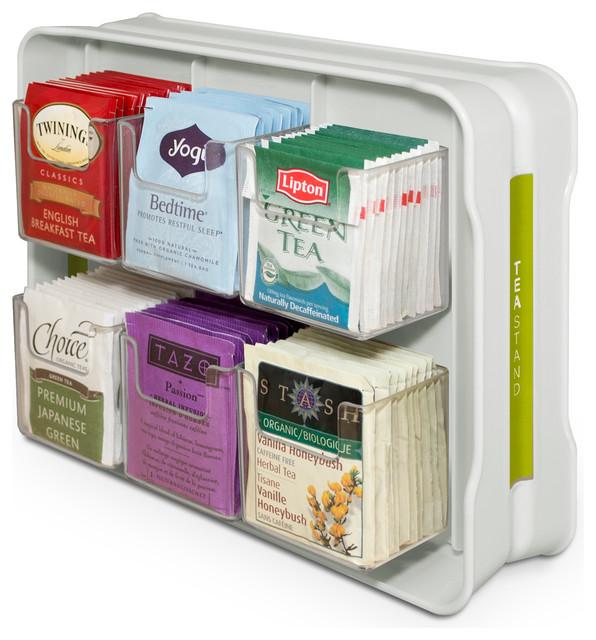 YouCopia TeaStand Tea Bag Organizer - Contemporary ...
