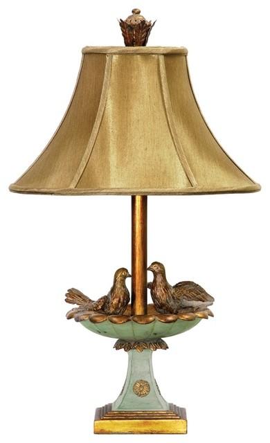 Dimond 91 786 Acanthus Column Tropical Table Lamp Farmhouse Table Lamps
