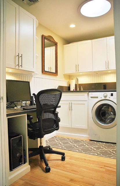 Laundry Room/Home Office - Traditional - new york - by Edward Doherty, RLA