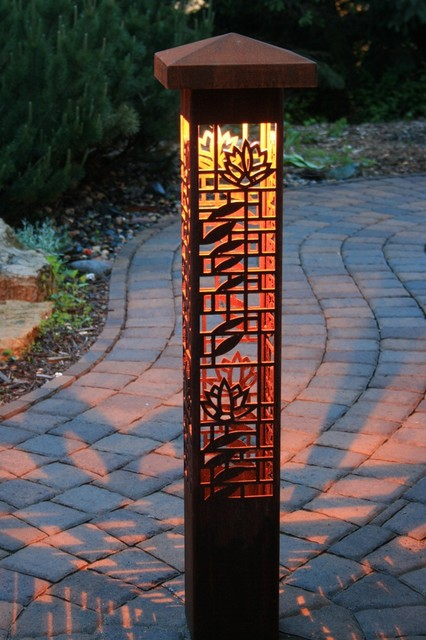 Bollards Contemporary Outdoor Lighting Indianapolis
