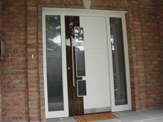 Exterior Door Model A250 With Two Sidelights