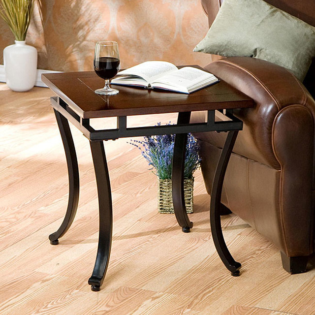 Upton Home Cornell End Table Contemporary Side Tables End Tables By