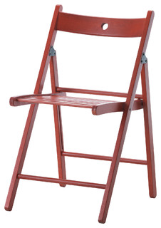 TERJE Folding Chair Red Modern Folding Chairs Stools By Ikea UK