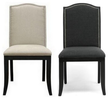 Charlotte Upholstered Dining Chair Traditional Dining Chairs Other Metr