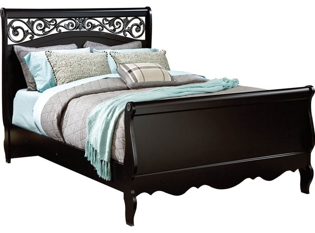 All products bedroom beds amp headboards beds sleigh beds