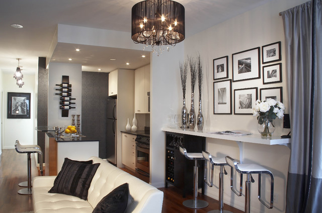 And condo interior design toronto other metro by lux design