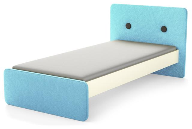 einzelbett limo blau. Black Bedroom Furniture Sets. Home Design Ideas