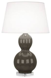 robert abbey williamsburg randolph carter gray table lamp
