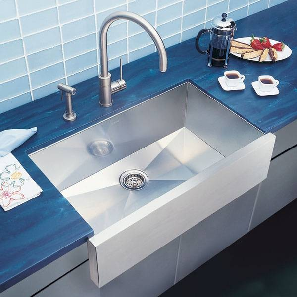 Blanco Precision Super Single Bowl Stainless Steel Sink Modern Kitchen Sinks Other By
